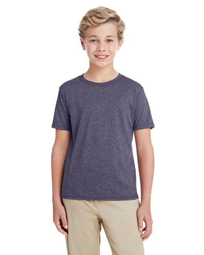 g460b-youth-performance-youth-core-t-shirt-xsmall-large-XSmall-HTH SPT DRK NAVY-Oasispromos