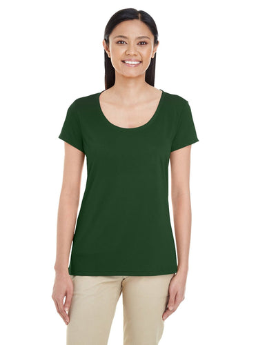 g460l-ladies-performance-core-t-shirt-xsmall-large-XSmall-SPORT DARK GREEN-Oasispromos