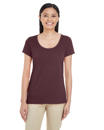g460l-ladies-performance-core-t-shirt-xsmall-large-XSmall-SPORT DRK MAROON-Oasispromos