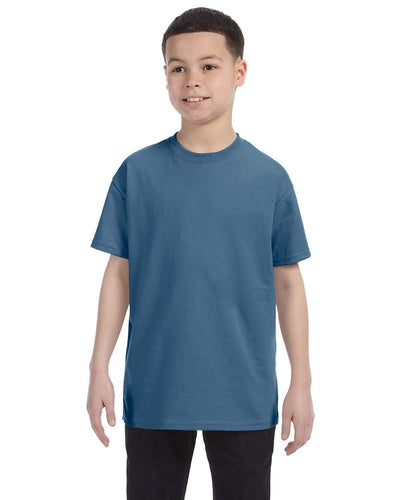 g500b-youth-heavy-cotton-5-3oz-t-shirt-small-Small-INDIGO BLUE-Oasispromos
