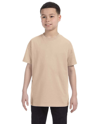 g500b-youth-heavy-cotton-5-3oz-t-shirt-small-Small-SAND-Oasispromos