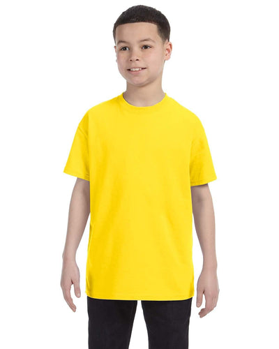 g500b-youth-heavy-cotton-5-3oz-t-shirt-small-Small-DARK CHOCOLATE-Oasispromos