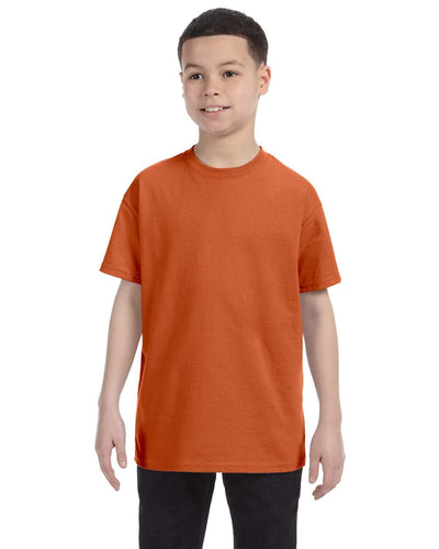 g500b-youth-heavy-cotton-5-3oz-t-shirt-small-Small-T ORANGE-Oasispromos