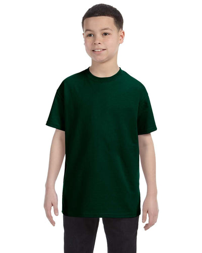 g500b-youth-heavy-cotton-5-3oz-t-shirt-xsmall-XSmall-FOREST GREEN-Oasispromos