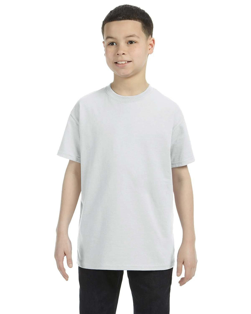G500B-Youth Heavy Cotton 5.3 oz. T-Shirt (MEDIUM) - Oasis Promos