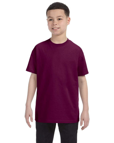 g500b-youth-heavy-cotton-5-3oz-t-shirt-small-Small-MAROON-Oasispromos