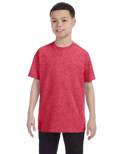 g500b-youth-heavy-cotton-5-3oz-t-shirt-small-Small-HEATHER RED-Oasispromos