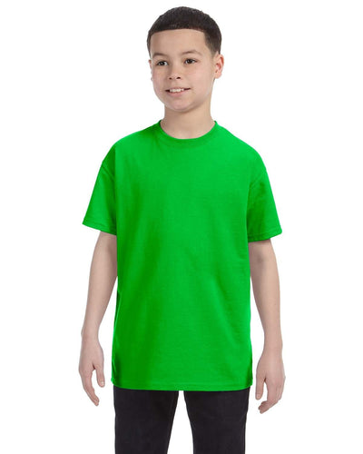 g500b-youth-heavy-cotton-5-3oz-t-shirt-xsmall-XSmall-ELECTRIC GREEN-Oasispromos