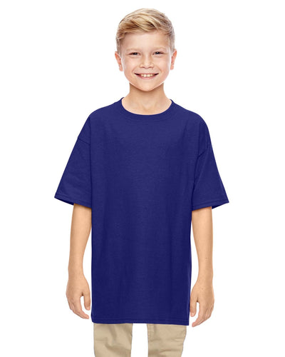 g500b-youth-heavy-cotton-5-3-oz-t-shirt-small-Small-NEON BLUE-Oasispromos