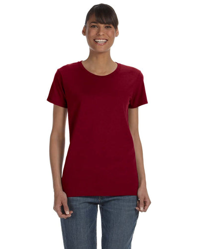 g500l-ladies-heavy-cotton-5-3-oz-t-shirt-small-medium-Small-GARNET-Oasispromos