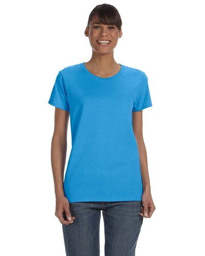 g500l-ladies-heavy-cotton-5-3-oz-t-shirt-large-xl-Large-HEATHER SAPPHIRE-Oasispromos