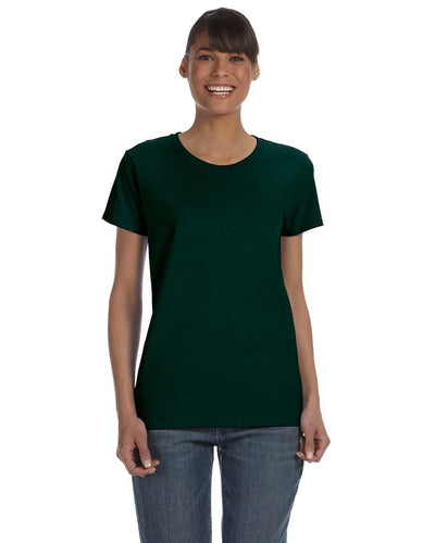 g500l-ladies-heavy-cotton-5-3-oz-t-shirt-small-medium-Small-FOREST GREEN-Oasispromos