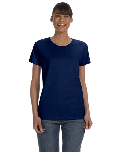 g500l-ladies-heavy-cotton-5-3-oz-t-shirt-small-medium-Small-NAVY-Oasispromos
