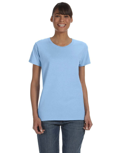 g500l-ladies-heavy-cotton-5-3-oz-t-shirt-large-xl-Large-LIGHT BLUE-Oasispromos