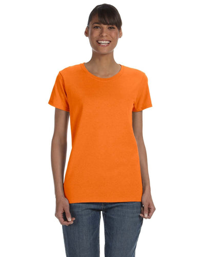 g500l-ladies-heavy-cotton-5-3-oz-t-shirt-small-medium-Small-S ORANGE-Oasispromos