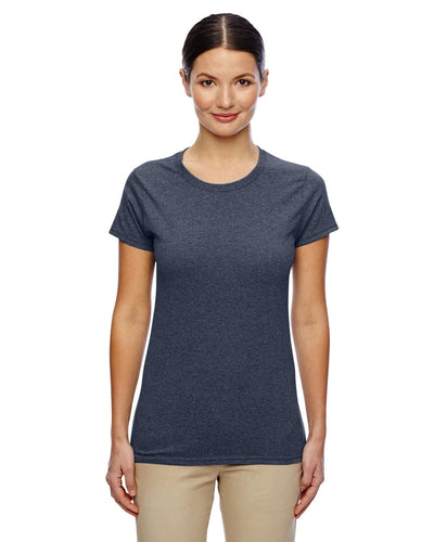 g500l-ladies-heavy-cotton-5-3-oz-t-shirt-small-medium-Small-HEATHER NAVY-Oasispromos