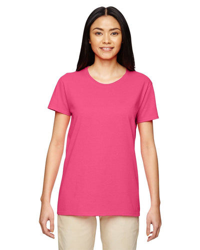g500l-ladies-heavy-cotton-5-3-oz-t-shirt-large-xl-Large-SAFETY PINK-Oasispromos