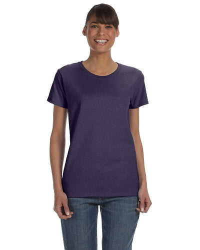 g500l-ladies-heavy-cotton-5-3-oz-t-shirt-small-medium-Small-BLACKBERRY-Oasispromos