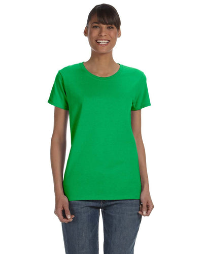 g500l-ladies-heavy-cotton-5-3-oz-t-shirt-large-xl-Large-ELECTRIC GREEN-Oasispromos