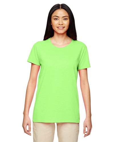 g500l-ladies-heavy-cotton-5-3-oz-t-shirt-large-xl-Large-NEON GREEN-Oasispromos