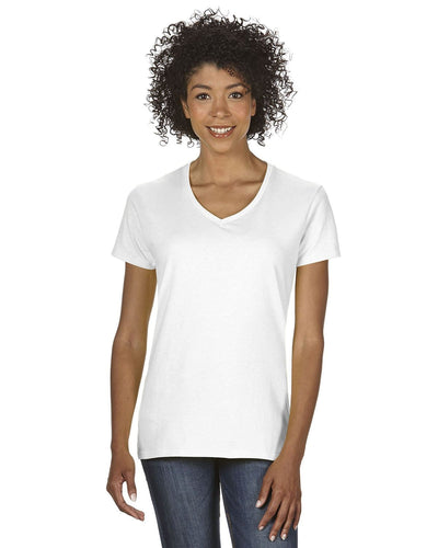 g500vl-ladies-heavy-cotton-5-3-oz-v-neck-t-shirt-small-large-Small-WHITE-Oasispromos