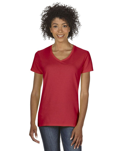 g500vl-ladies-heavy-cotton-5-3-oz-v-neck-t-shirt-small-large-Small-RED-Oasispromos