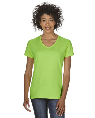 g500vl-ladies-heavy-cotton-5-3-oz-v-neck-t-shirt-small-large-Small-LIME-Oasispromos