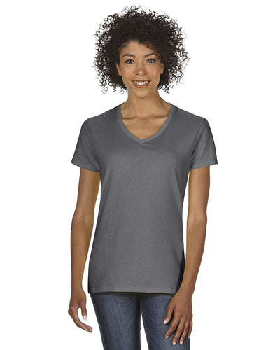 g500vl-ladies-heavy-cotton-5-3-oz-v-neck-t-shirt-small-large-Small-CHARCOAL-Oasispromos