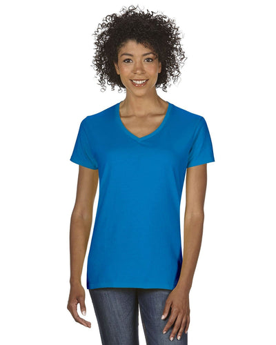 g500vl-ladies-heavy-cotton-5-3-oz-v-neck-t-shirt-small-large-Small-SAPPHIRE-Oasispromos