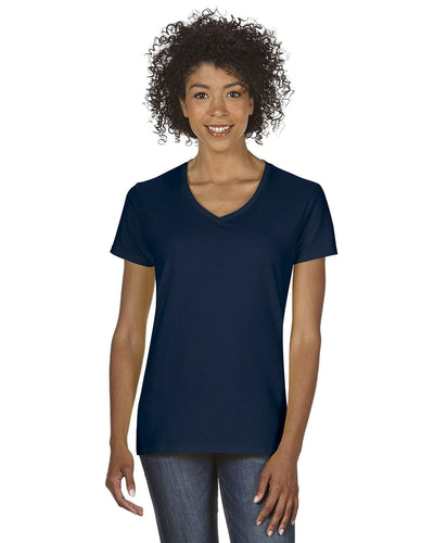 g500vl-ladies-heavy-cotton-5-3-oz-v-neck-t-shirt-small-large-Small-NAVY-Oasispromos