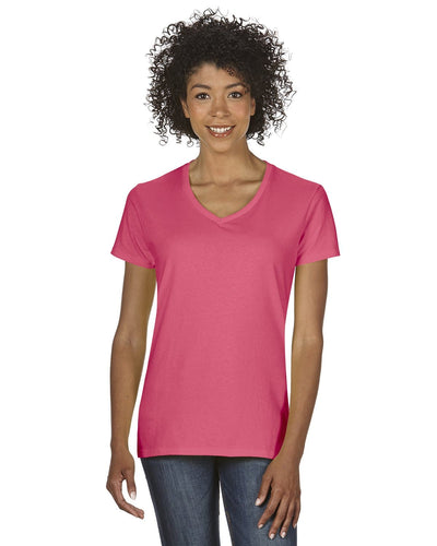 g500vl-ladies-heavy-cotton-5-3-oz-v-neck-t-shirt-small-large-Small-CORAL SILK-Oasispromos