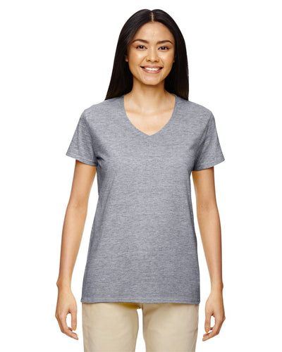 g500vl-ladies-heavy-cotton-5-3-oz-v-neck-t-shirt-small-large-Small-GRAPHITE HEATHER-Oasispromos