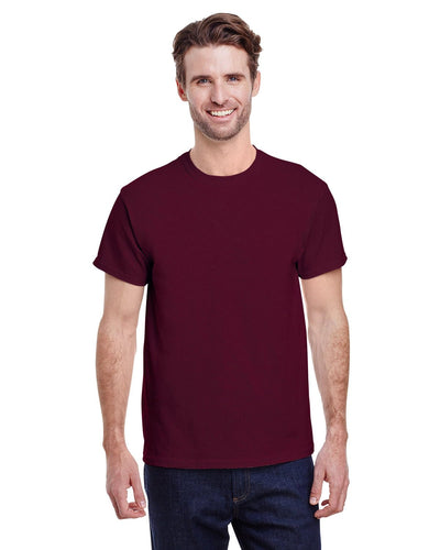 g500-adult-heavy-cotton-5-3oz-t-shirt-large-Large-MAROON-Oasispromos