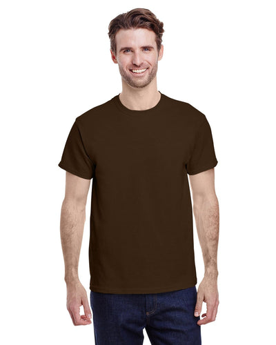 g500-adult-heavy-cotton-5-3oz-t-shirt-large-Large-DARK CHOCOLATE-Oasispromos