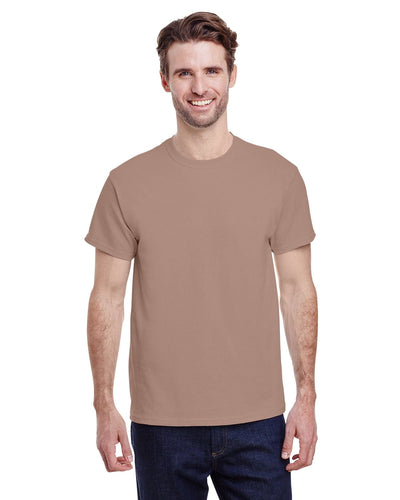 g500-adult-heavy-cotton-5-3oz-t-shirt-large-Large-BROWN SAVANA-Oasispromos