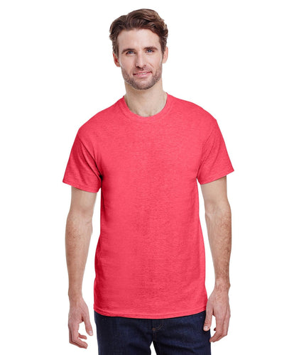 g500-adult-heavy-cotton-5-3oz-t-shirt-large-Large-HEATHER RED-Oasispromos