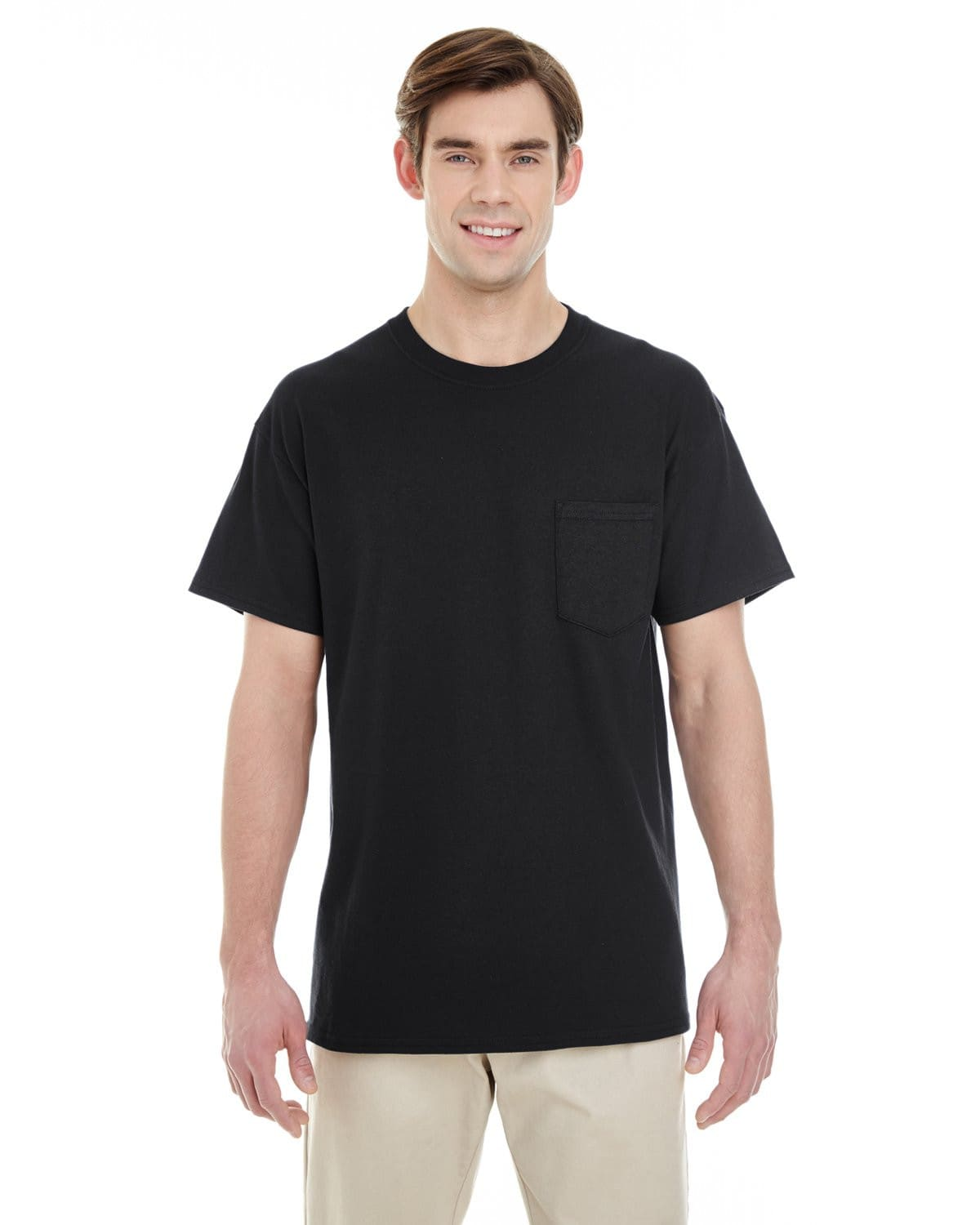 g530-adult-heavy-cotton-5-3oz-pocket-t-shirt-Small-BLACK-Oasispromos