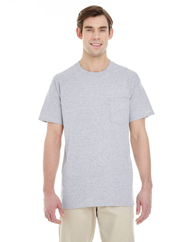 g530-adult-heavy-cotton-5-3oz-pocket-t-shirt-Medium-GRAPHITE HEATHER-Oasispromos