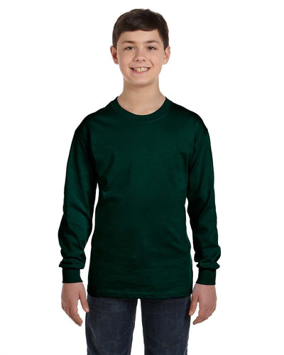 g540b-youth-heavy-cotton-5-3oz-long-sleeve-t-shirt-Medium-BLACK-Oasispromos