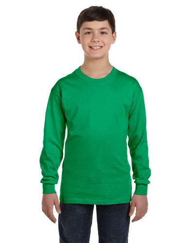 g540b-youth-heavy-cotton-5-3oz-long-sleeve-t-shirt-XSmall-CAROLINA BLUE-Oasispromos