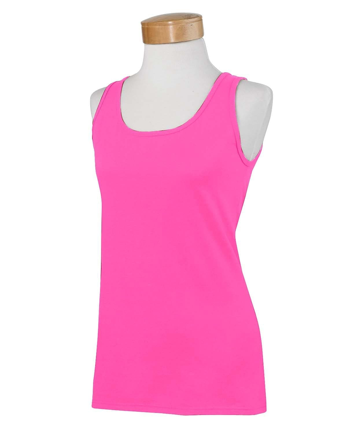 g642l-ladies-softstyle-4-5-oz-fitted-tank-Small-AZALEA-Oasispromos