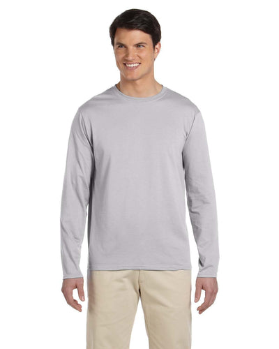 g644-adult-softstyle-4-5-oz-long-sleeve-t-shirt-Small-CHARCOAL-Oasispromos
