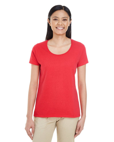g6455l-ladies-softstyle-4-5-oz-deep-scoop-t-shirt-Small-DARK HEATHER-Oasispromos