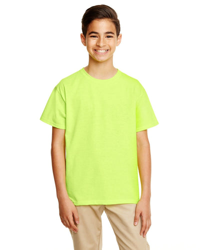 g645b-youth-softstyle-4-5-oz-t-shirt-xl-XL-SAFETY GREEN-Oasispromos