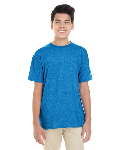g645b-youth-softstyle-4-5-oz-t-shirt-xl-XL-HEATHER SAPPHIRE-Oasispromos