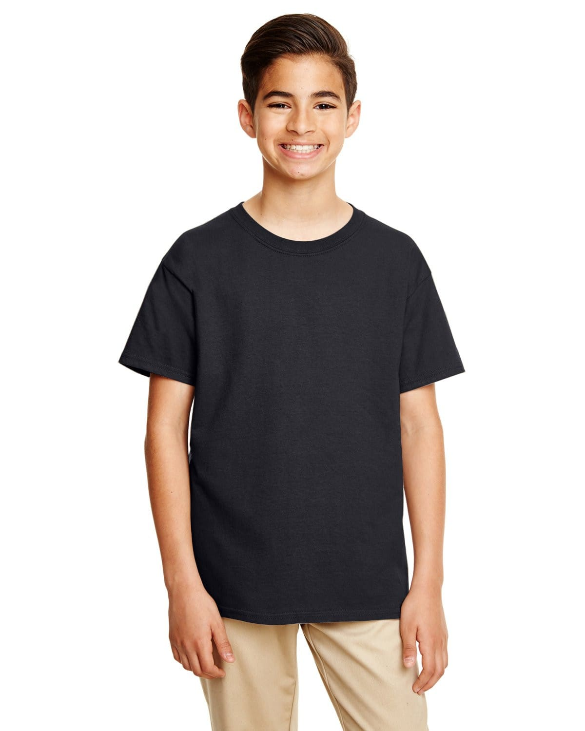 g645b-youth-softstyle-4-5-oz-t-shirt-xsmall-large-XSmall-BLACK-Oasispromos
