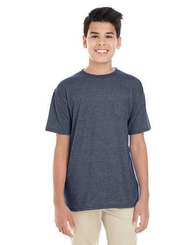 g645b-youth-softstyle-4-5-oz-t-shirt-xl-XL-HEATHER NAVY-Oasispromos