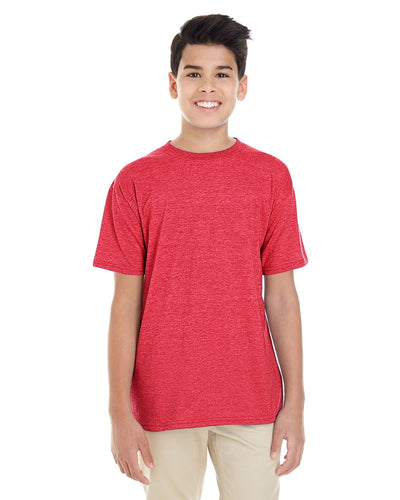 g645b-youth-softstyle-4-5-oz-t-shirt-xl-XL-HEATHER RED-Oasispromos