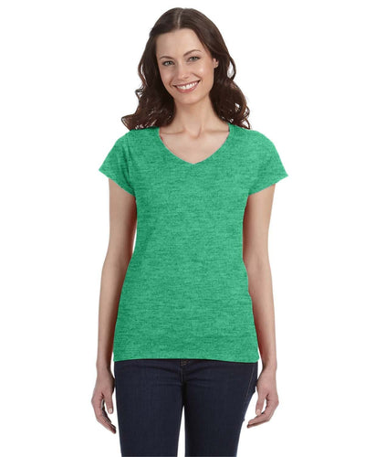 g64vl-ladies-softstyle-4-5-oz-fitted-v-neck-t-shirt-Medium-BERRY-Oasispromos