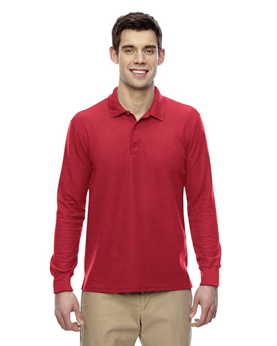 g729-adult-6-oz-double-piqu-long-sleeve-polo-Small-DARK HEATHER-Oasispromos